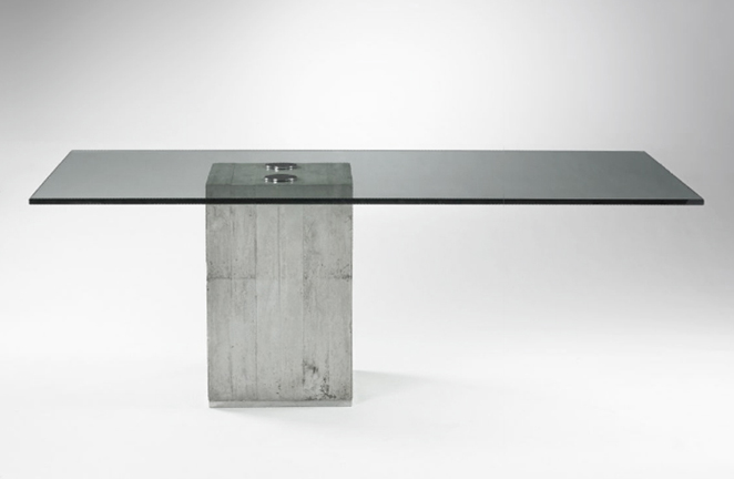 Saporiti dining table schneider colao studio gallery for Dining table support